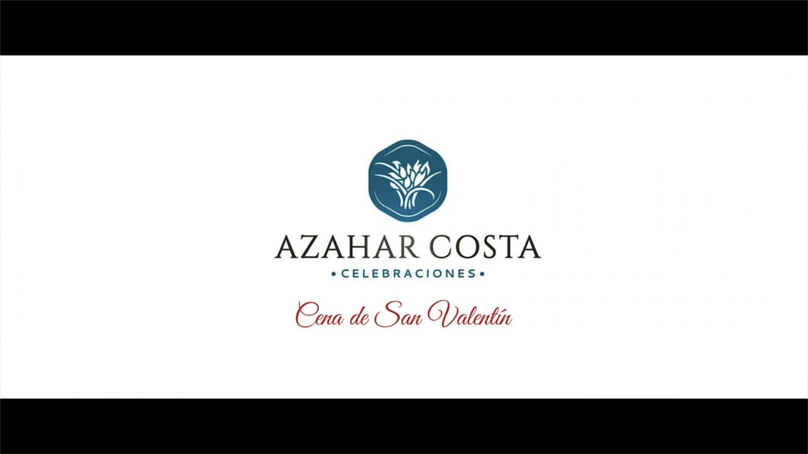 Evento Cena San Valentin Azahar Costa 2018