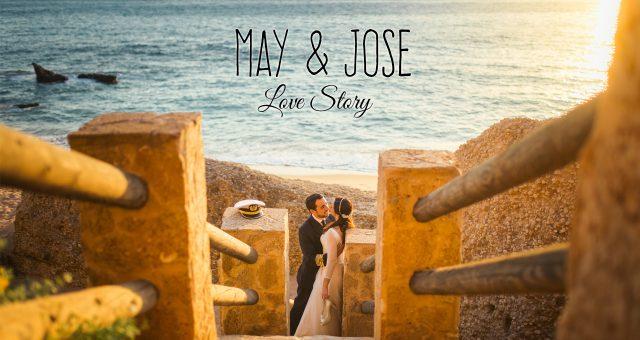 Trailer boda May y Jose en Chiclana