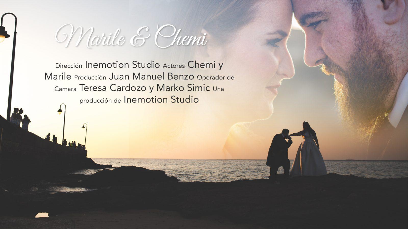 Trailer boda Marile y Chemi en Cádiz