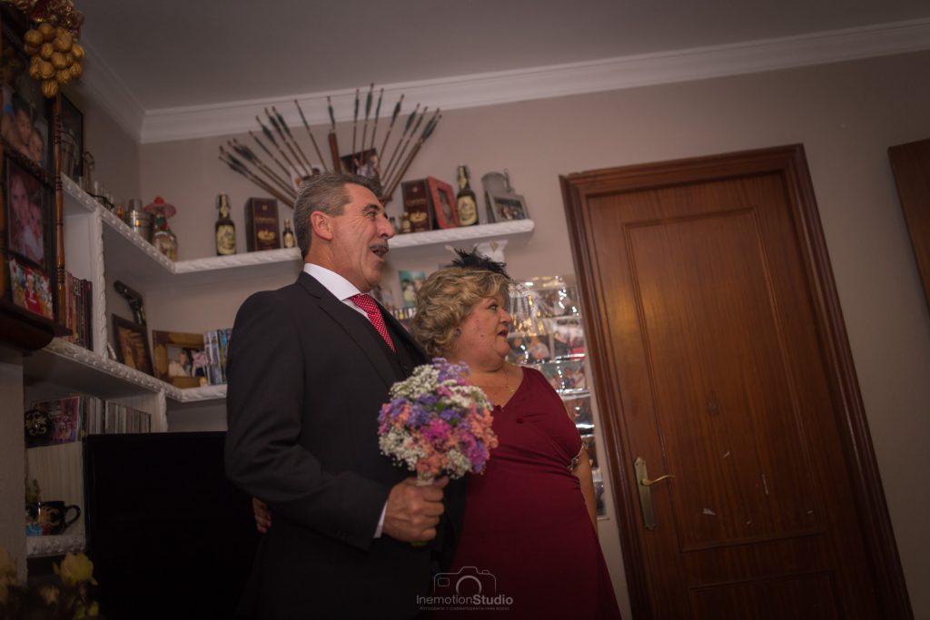 preparativos en una boda