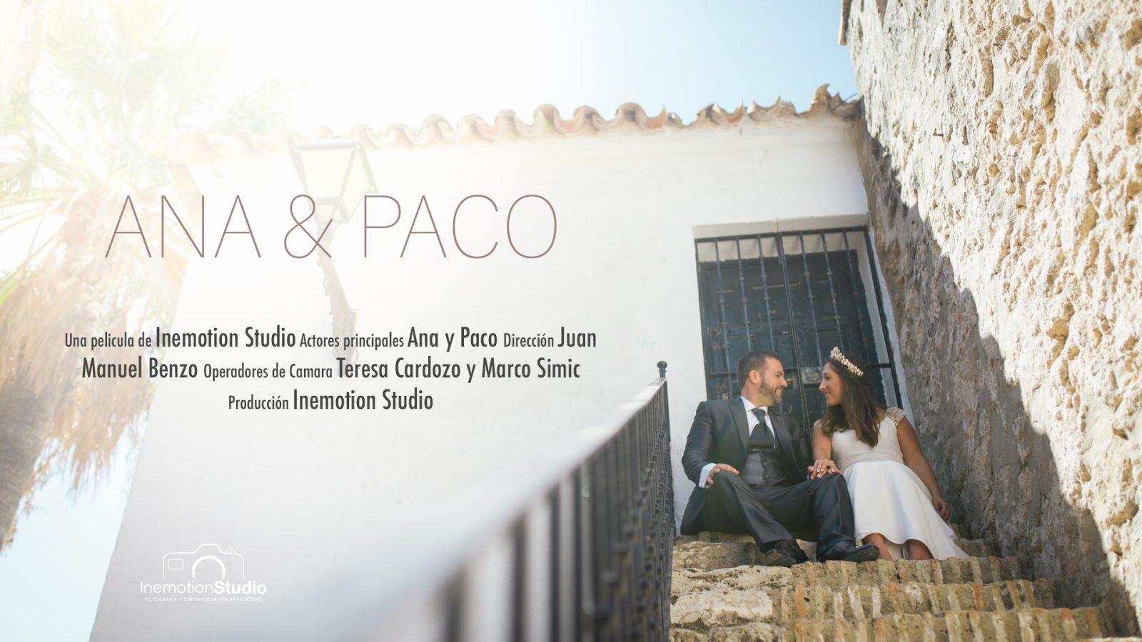 Trailer boda Ana y Paco en Chiclana