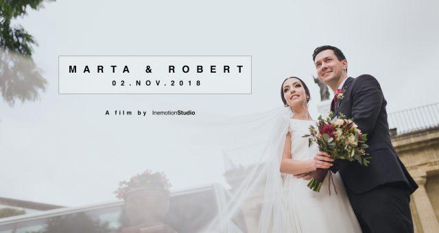Trailer Marta y Robert en Bodegas Fundador