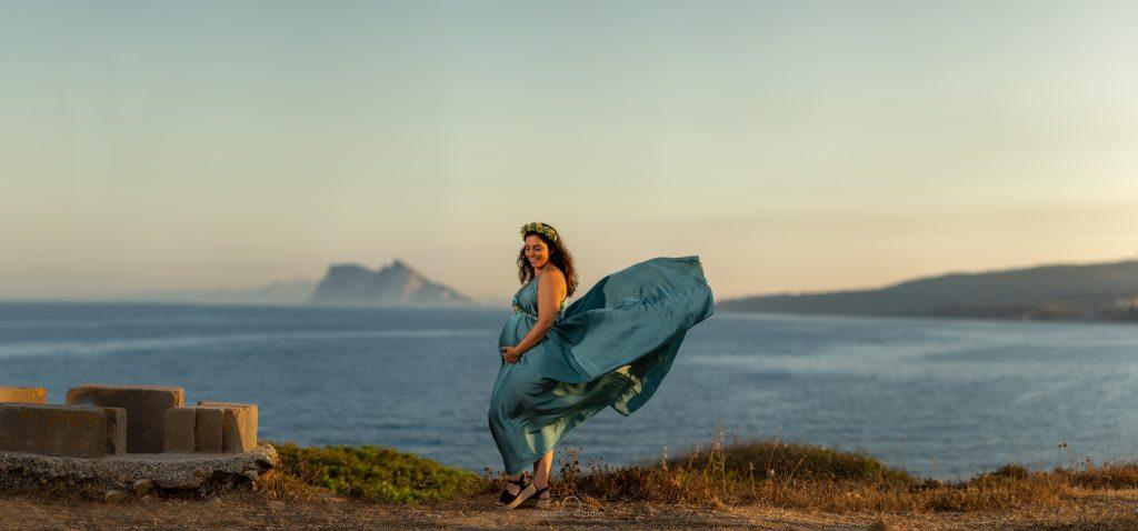 fotógrafo de embarazo en Cádiz